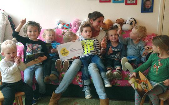 Kindertijd 'Doe ff gezond keurmerk'